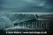 Edge of Ice Cap, Nordaustlandet, Svalbard, Norway, Scandanavia, Arctic