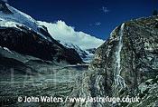 Mountains Switzerland, Europe near Zermatt waterfall and valley, Switzerland, Europe