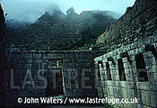 Machu Picchu, Inca Ruins on mountain ridge, Peru, South America