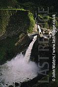 Agoyan falls, Ecuador