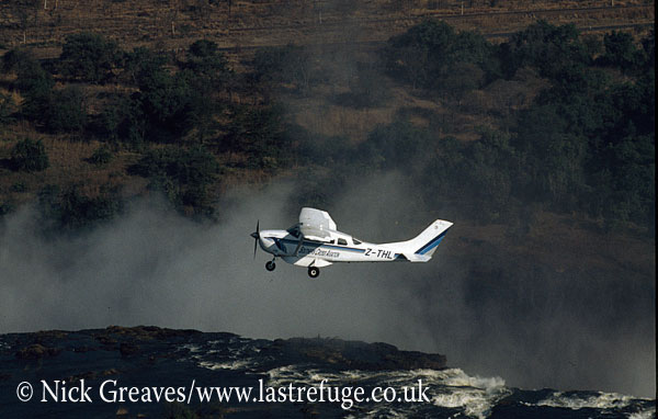 Flight of Angels (Cessna 206), Victoria Falls, Zimbabwe