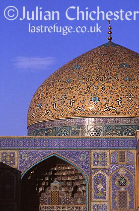 Mosque of Sheikh Lotfollah, 17th Century, Isfahan, Iran