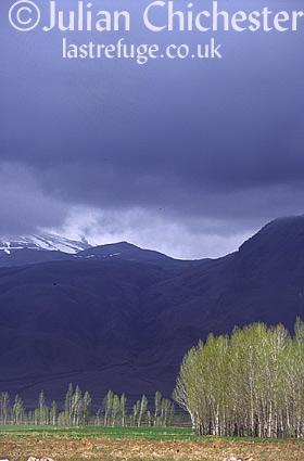 Mountains in Azerbaijan Province, Iran