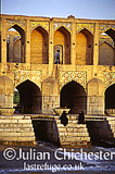 The Pol-e Khaju bridge, 17th Century, Isfahan, Iran