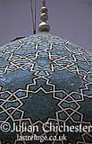 Mausoleum of Shah Mematollah Vali, 15th Century, at Mahan, Kerman Province, Iran