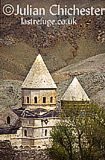 Church of St Thaddaeus (Qare Kelisa) in Azerbaijan Province, Iran