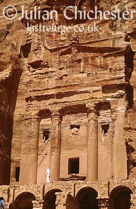 Nabatean tomb at Petra, Jordan