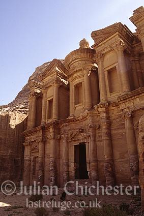 The Al Dair Temple (the Monastery) at Petra, Jordan. Nabaatean, 3rd Century