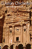 Nabatean tomb at Petra, Jordan