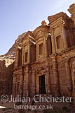 The Al Dair Temple (the Monastery) at Petra, Jordan. Nabaatean, 3rd Century