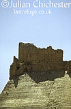 The Crusader castle of Crac des Moabites at Karak, Jordan. 12th Century