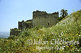 Qalaat Marqab (Margat Castle), near Tartus, Syria. Built by Knights Hospitaller Crusaders in 12th Century