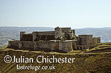 Krak des Chevaliers castle, Syria. Built by Knights Hospitaller Crusaders in 12th Century