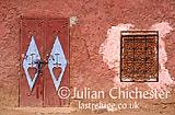 Wall and door, Tin-Mal, Morocco