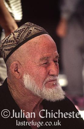 Uyghur man, Kashgar, South-West Xinjiang, China