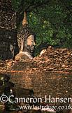 Buddha at Wat Mahathat, Sukhothai Historical Park, Thailand