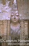 Buddha at Wat Si Chum, Sukhothai Historical Park, Thailand