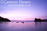 Long Boat at Sunset, Kho Phi Phi, Andaman Sea, Thailand