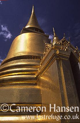 Phra Siratana Jedi, Grand Palace, Bangkok, Thailand