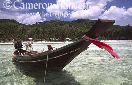 Long Boats, Kho Phi Phi, Andaman Sea, Thailand