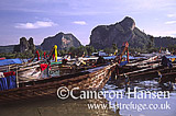 Long Boats, Kho Phi Phi, Andaman Sea, Thailand
