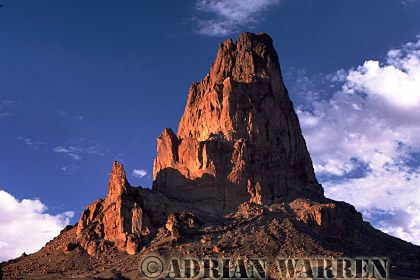 Agathia Peak, near Monument Valley, Arizona, USA