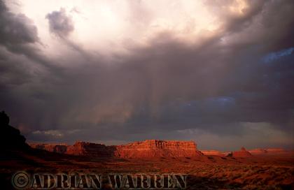 Rain Clouds near Monument Valley, Arizona, USA