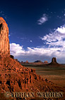 Monument Valley from North window, Arizona, USA