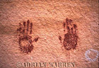 ROCK ART - Pictograph, Kachina Bridge, Natural Bridges National Monument, Utah, USA