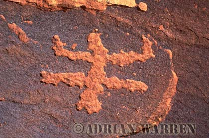 ROCK ART - Petroglyph, Sand Island Recreation Area, San Juan River, Utah, USA