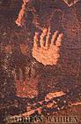 Hands ROCK ART - Petroglyphs, Sand Island Recreation Area, San Juan River, Utah, USA