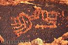 ROCK ART - Petroglyph, Sand Island Recreation Area, San Juan River, Utah, USA