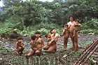 Waorani Indians: Until children reach 2 years of age, they are never away from parental contact, Gabado, 1975, Ecuador