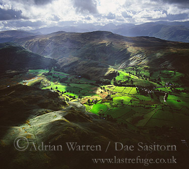 Thirlmere, Valley north of, Lake District National Park, Cumbria, England