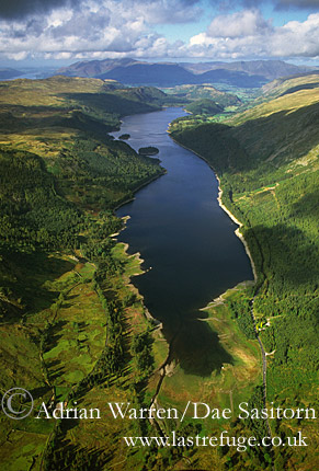 Thirlmere, Lake District National Park, Cumbria, England