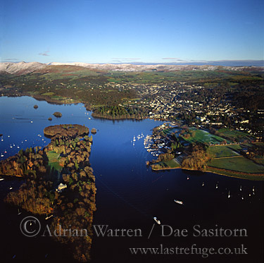 Windermere, Lake District National Park, Cumbria, England