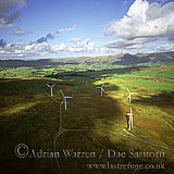 Wind farm at Lambrig Fell, Cumbria, England