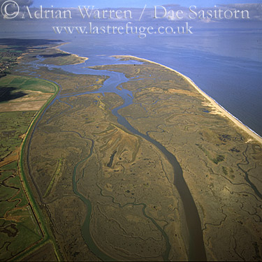Mud Flats at Norton Creek, Mud Flats, Norfolk, England