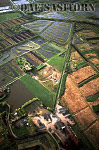 Peat Extraction Sites, Somerset Levels, England