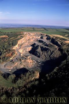 Quarry, Somerset, England