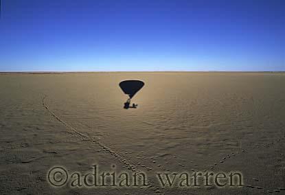 AERIALS: Hot-Air Balloon over Etosha National Park, Namibia, Africa