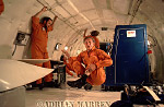 Sir David Attenborough in Zero Gravity in NASA's KC135 (Vomit Comet) for The Living Planet series, best