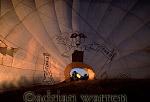 AERIALS: Hot-Air Balloon, Etosha National Park, Namibia, Africa