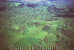 Aerials (aerial photo) of South America: ANDEAN ALTIPLANO, High Altitude Agriculture, Ecuador, 1993