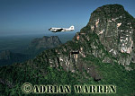AERIALS: DC3 over Cerro Autana, Venezuela, South America