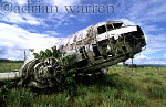 DC3 Wreck, Gran Sabana close to Auyantepui, Venezuela, South America