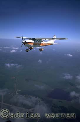 AERIALS: Cessna 182 : G-ASXZ, air to air over Cornwall, England, UK