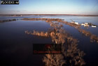 Aerials (aerial image) of North America: FLOODS at Grand Forks, North Dakota, USA