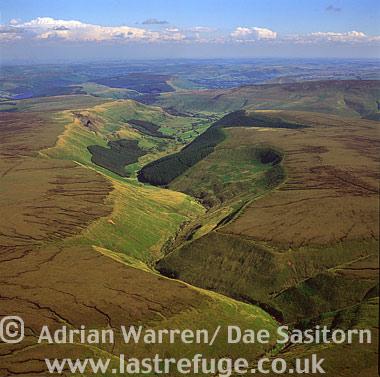 Alport Dale, Peak District, Derbyshire, England