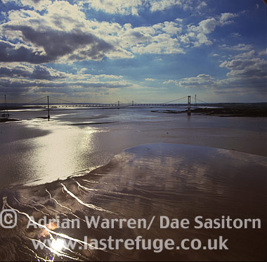 Severn Bridge, Gloucestershire, England
